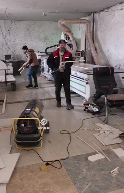 燃油暖风机施工